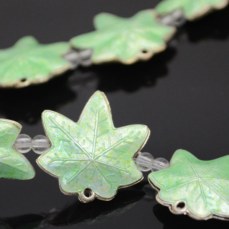 Cloisonne - Maple Leaf - New Forest