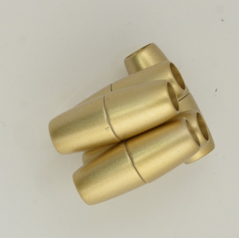 Clasp - Magnetic - Bullet - Matte Gold