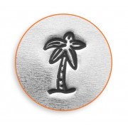 ImpressArt Stamps - 6mm Design Stamp/Punch - Palm Tree Design Stamp