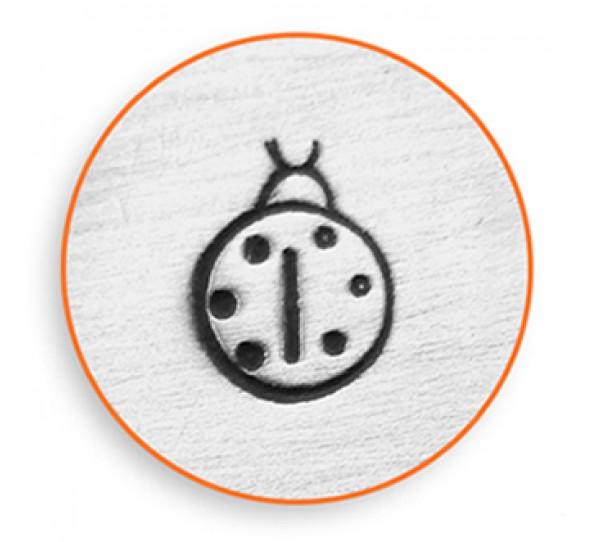Lady Bug Design Stamp 6mm ImpressArt