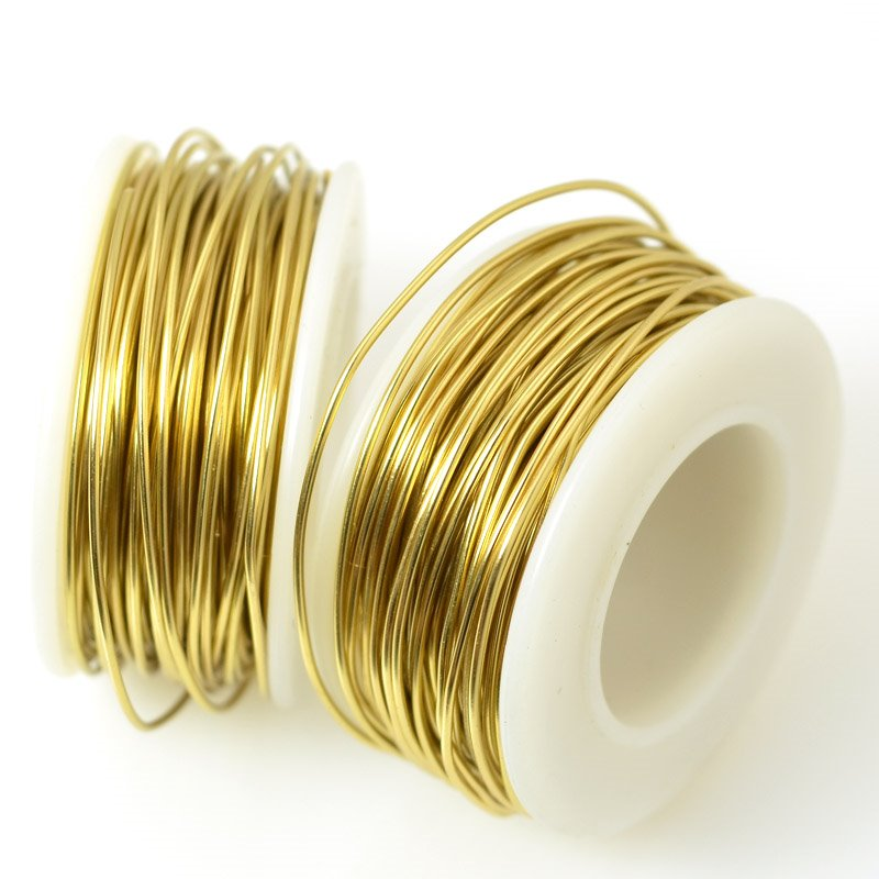 ParaWire - 20ga Round Wire - Faux Gold (Spool)