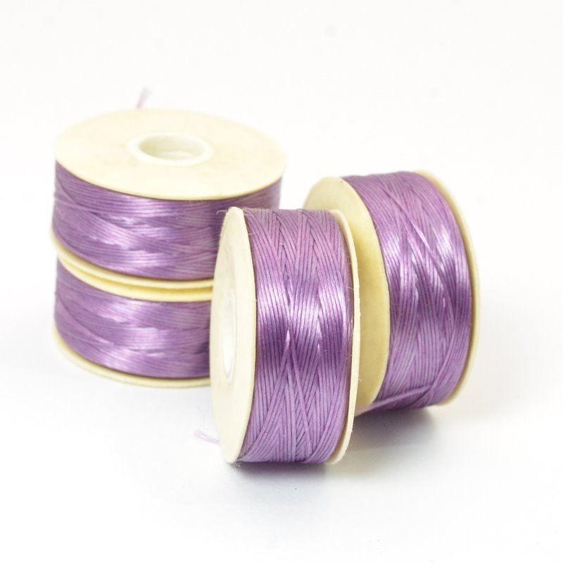Nymo Thread - Size D - Light Purple (Bobbin)