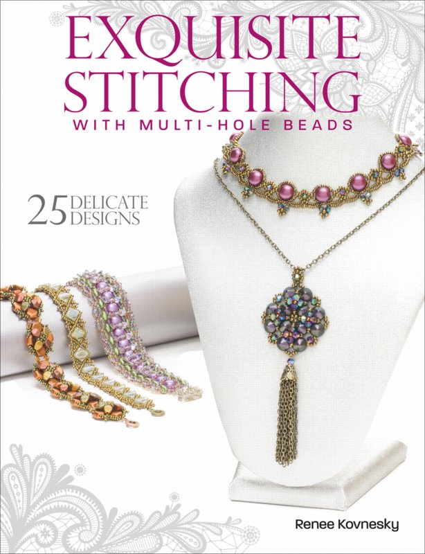 Book - Exquisite Stitching with Multi-Hole Beads - by Renee Kovnesky