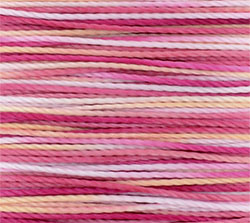 Thread - Toho Amiet Thread - Pink Variegated (Card) Manager Special