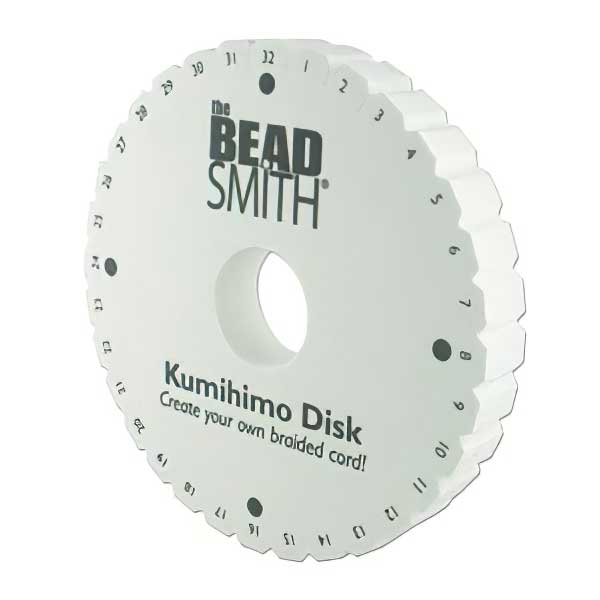 Tools - 6in Kumihimo Round Plate / Disk Double Density