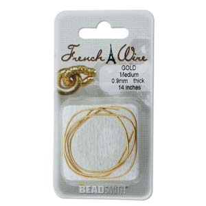 French Wire - Medium - Goldplated (Pack)