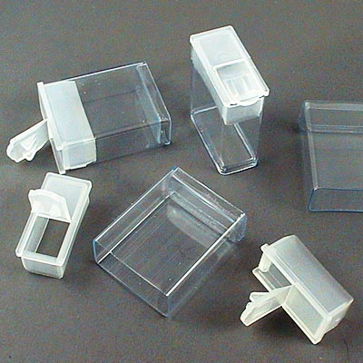 Packaging - Mini Tictac Containers - Clear (10)