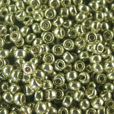 Japanese Seedbeads - 11/0 Toho Seedbeads - Galvanized Light Gold [Permanent Finish]