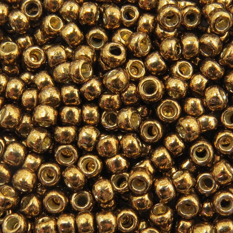 Japanese Seedbeads - 8/0 Toho Seedbeads - Galvanized Dark Bronze [Permanent Finish]