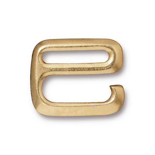 Finding - Hook Clasp - 20mm E Hook - Bright Gold Manager Special