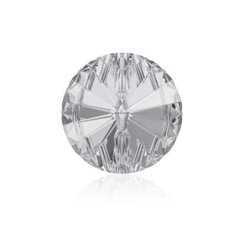 20730151050001 Swarovski Crystal Button - 12mm Rivoli (3015) - Crystal