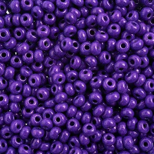 65443228 Czech Seedbeads - 6/0 Seedbead - Terra Intensive Purple  (20 grams)