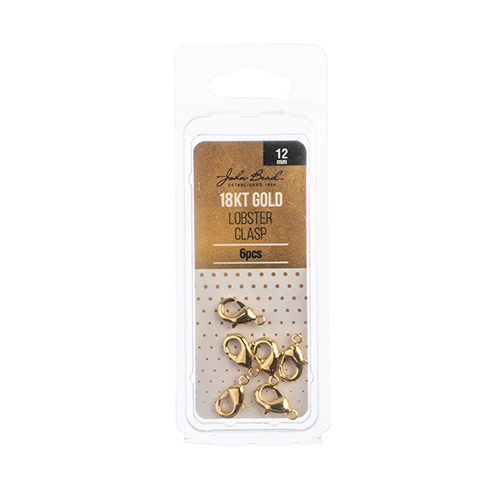 96104019-02 Jump Ring Open 12mm - 18kt Goldplated (Pack)