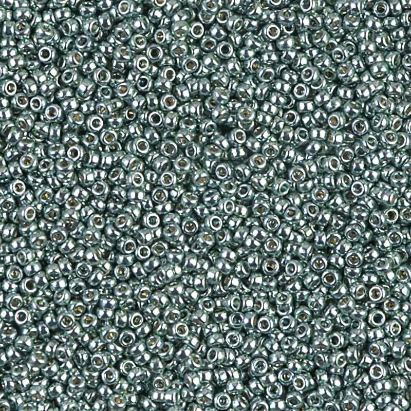mb15-4216 Japanese Seedbeads - 15/0 Miyuki Seedbeads - Duracoat Galvanized Seafoam
