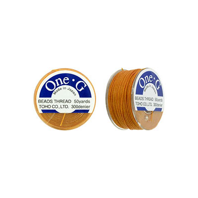 s50753 Thread -  Toho One-G Beading Thread - Orange (Spool)