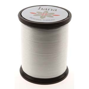 s50960 Thread - Size B Hana Nylon Thread - Bone (Spool)