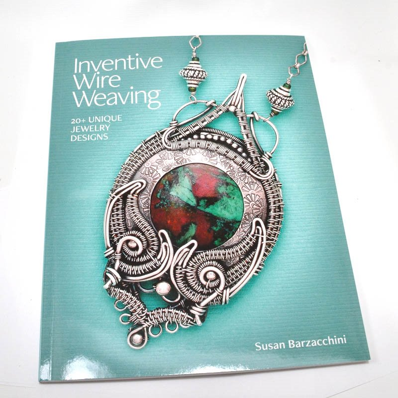 s58859 Book -  Inventive Wire Weaving - by Susan Barzacchini