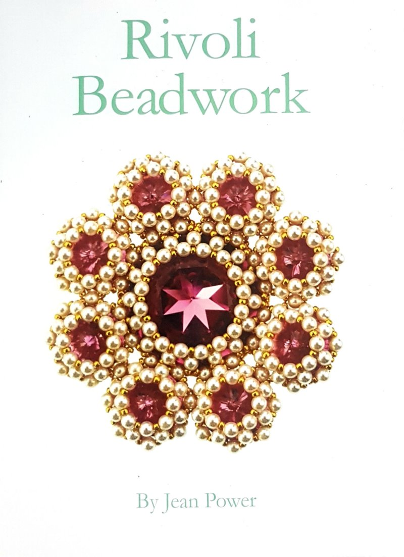 s60871 Book -  Rivoli Beadwork - by Jean Power
