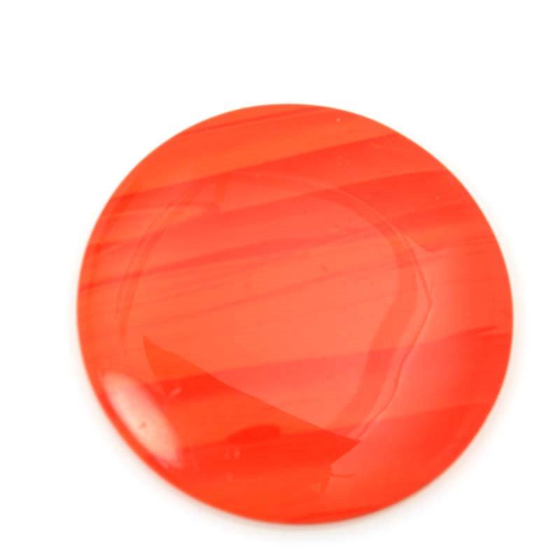 s63205 OOAK Stone Cabochon - 35mm Circle - Rosarita