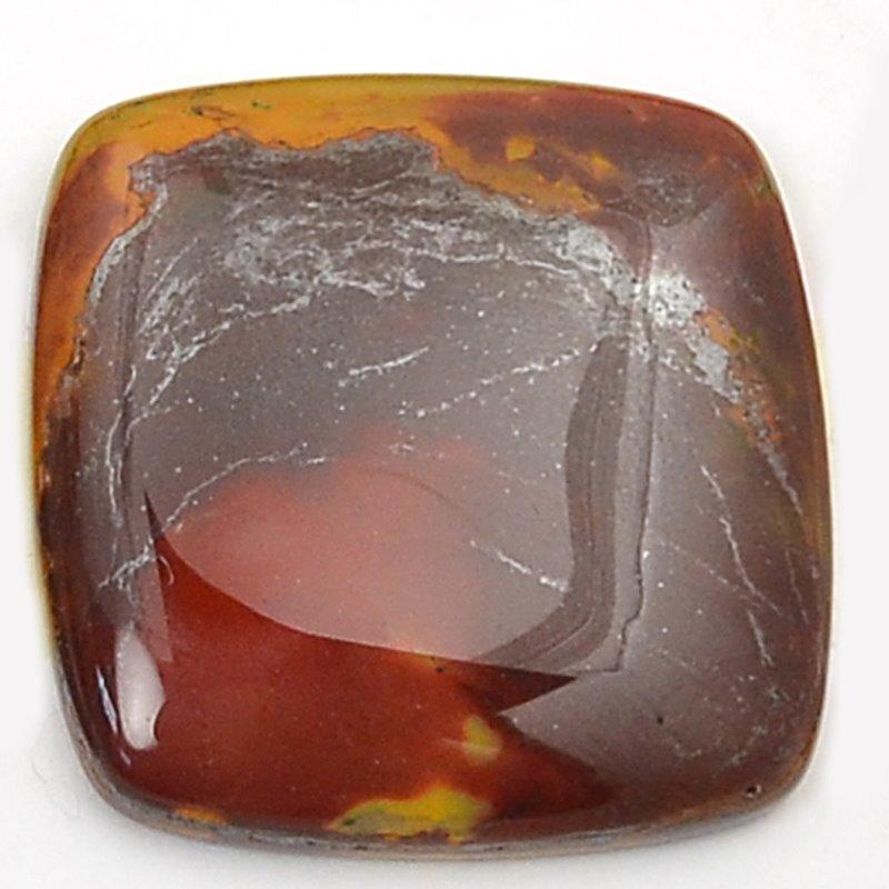 s63222 OOAK Stone Cabochon - 30mm Square Cabochon - Mookaite