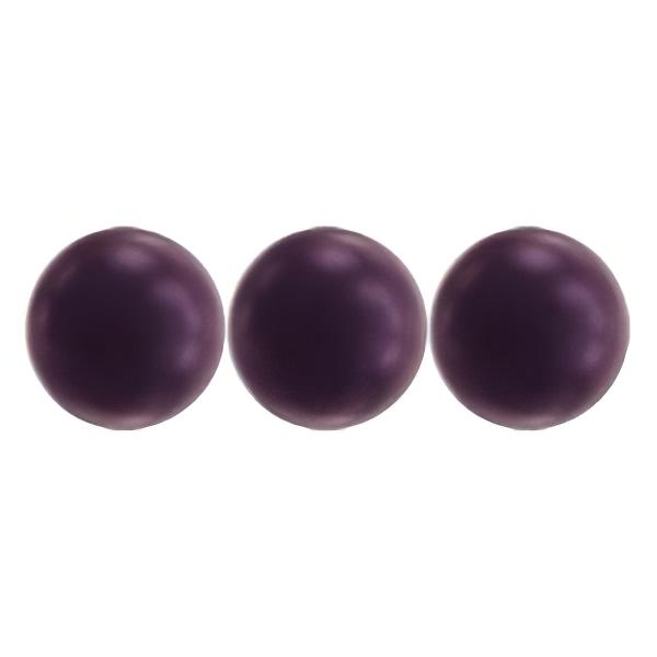 s63520 Swarovski Pearl - 8mm Round Pearl (5810) - Crystal Elderberry Pearl (25)