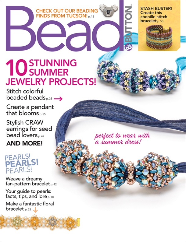 s63566 Magazine - Bead and Button -  2020 - June