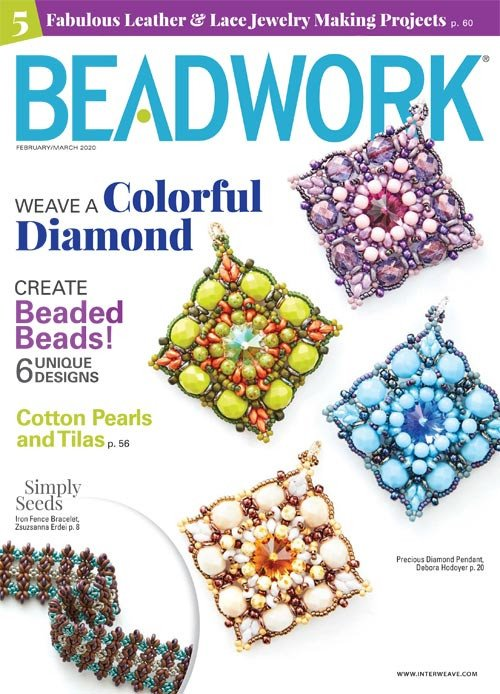 s63579 Magazine - Beadwork -  2020 - February - March