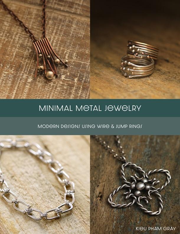 s63886 Book -  Minimal Metal Jewelry - by Kieu Pham Gray