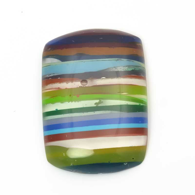 s63975 OOAK Cabochon -  Rounded Rectangle - Surfite