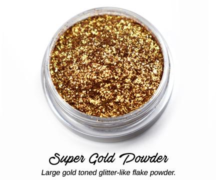 s64335 Creative Art Pigments -  Lumiere Lusters High Temp Powders: - Super Gold Powder (Jar)