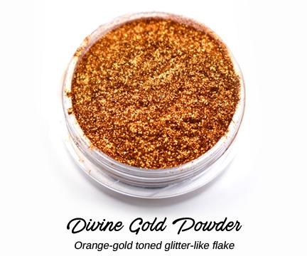 s64336 Creative Art Pigments -  Lumiere Lusters High Temp Powders: - Divine Gold Powder (Jar)