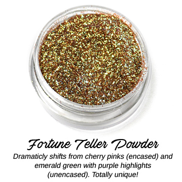 s64339 Creative Art Pigments -  Lumiere Lusters High Temp Powders: - Fortune Teller Powder (Jar)
