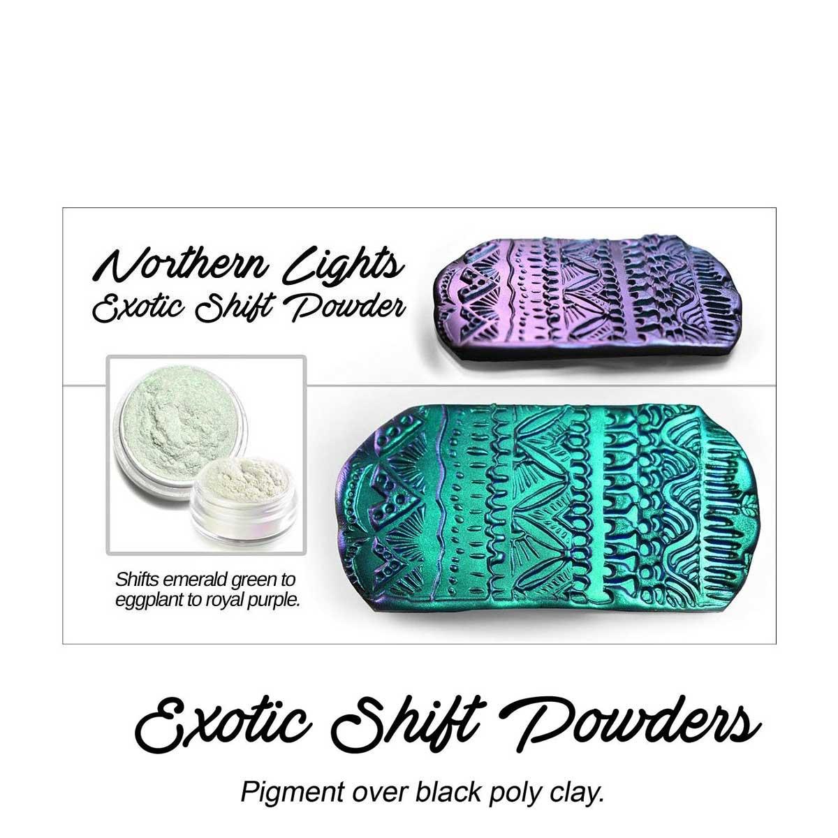 s64356 Creative Art Pigments -  Lumiere Luster Exotics - Northern Lights Exotic (Jar)