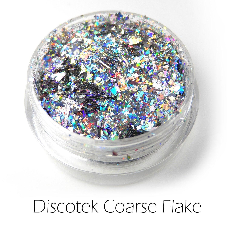 s64358 Creative Art Pigments -  Lumiere Luster Low Temp - Discotek Coarse Flake (Jar)
