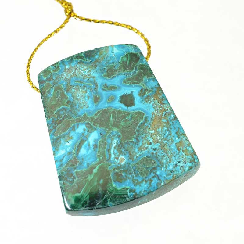 s64894 OOAK Stone Pendant -  Keystone - Shattuckite