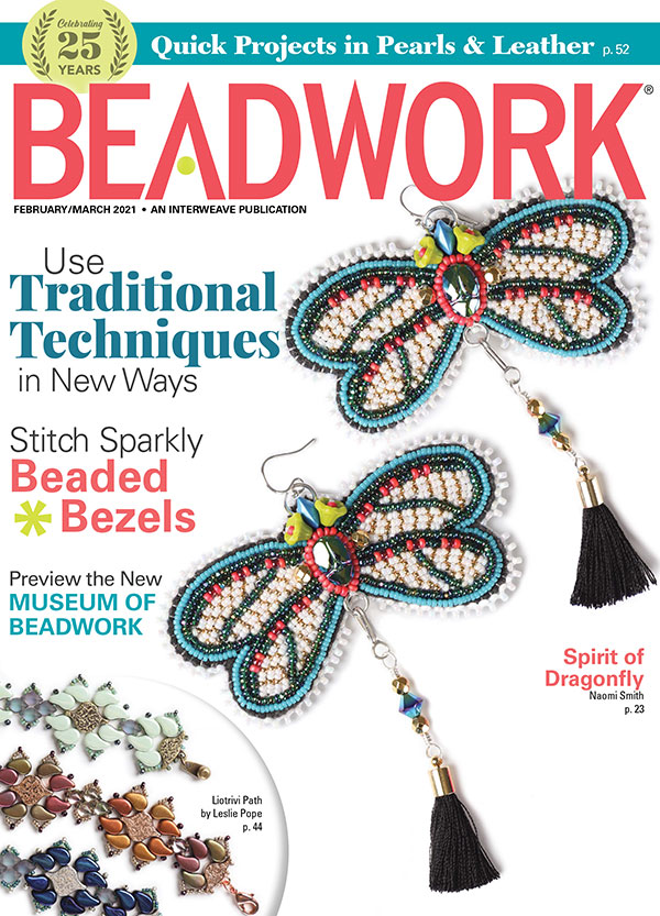 s66301 Magazine - Beadwork -  2021 - February / March