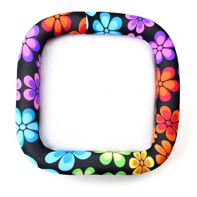s66404 Bead on it Board - 6in/15cm Square - Floral Trance