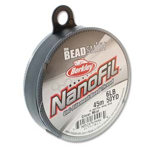 s68163 Nanofil - 50yds 6lb / .007in - Clear Mist (Spool)