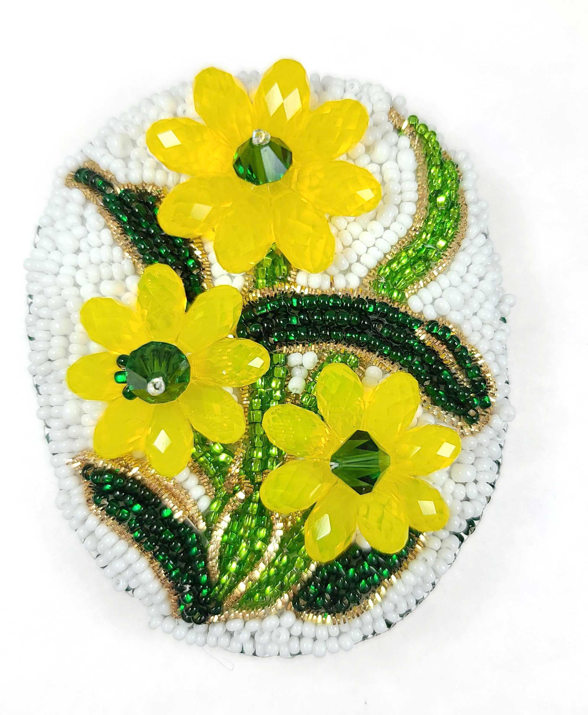 s48789 Swarovski Pendant - 6.5x13mm Briolette Drops (6010) - Yellow Opal