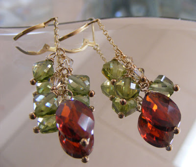 Victorian Christmas Earrings
