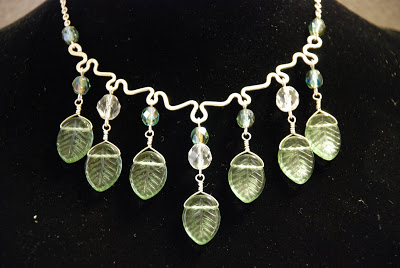 Leafy Waterfall Necklace and other Classes.