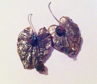The Joy of Metal Clay:  Silver Leaves – Part 2