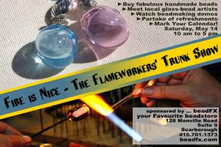Lampwork Trunk Show & Classes