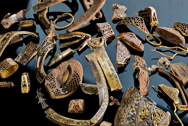 Staffordshire Gold Hoard…