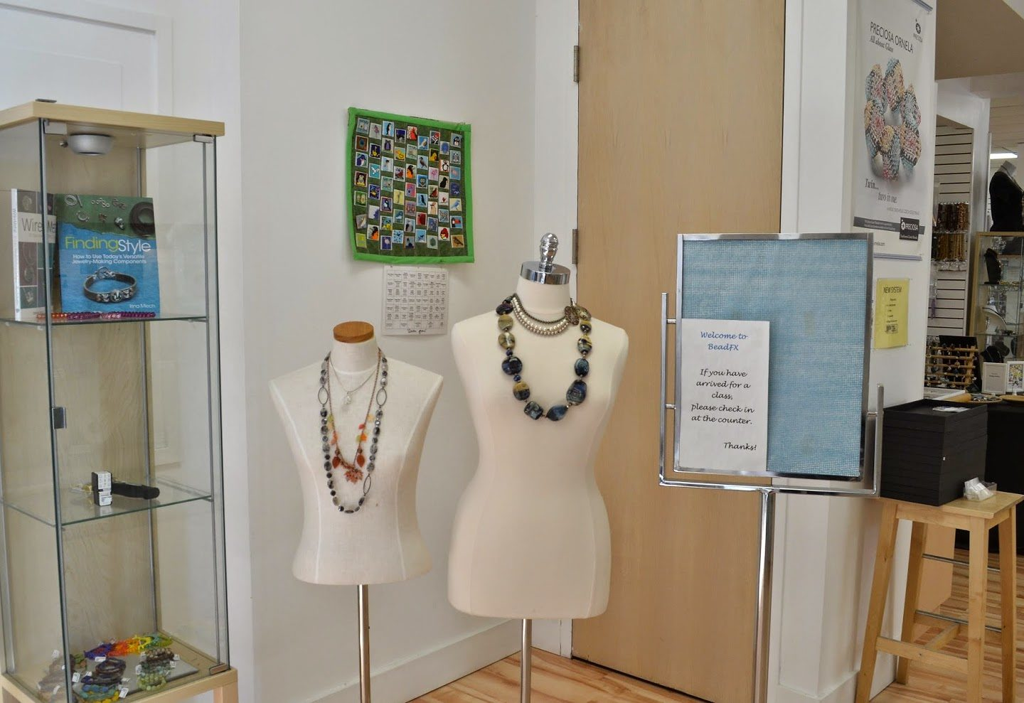 Jewelry on Display!