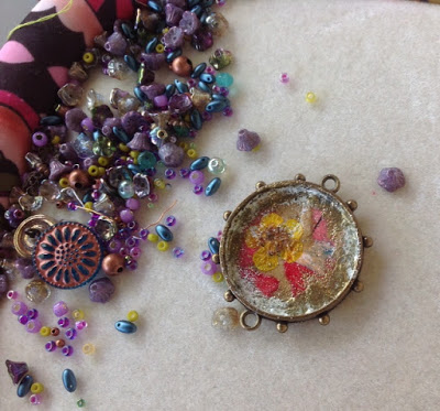 What's on my bead mat – July edition!