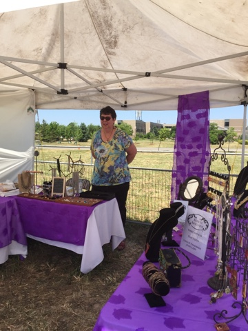 Selling your jewellery at outdoor shows