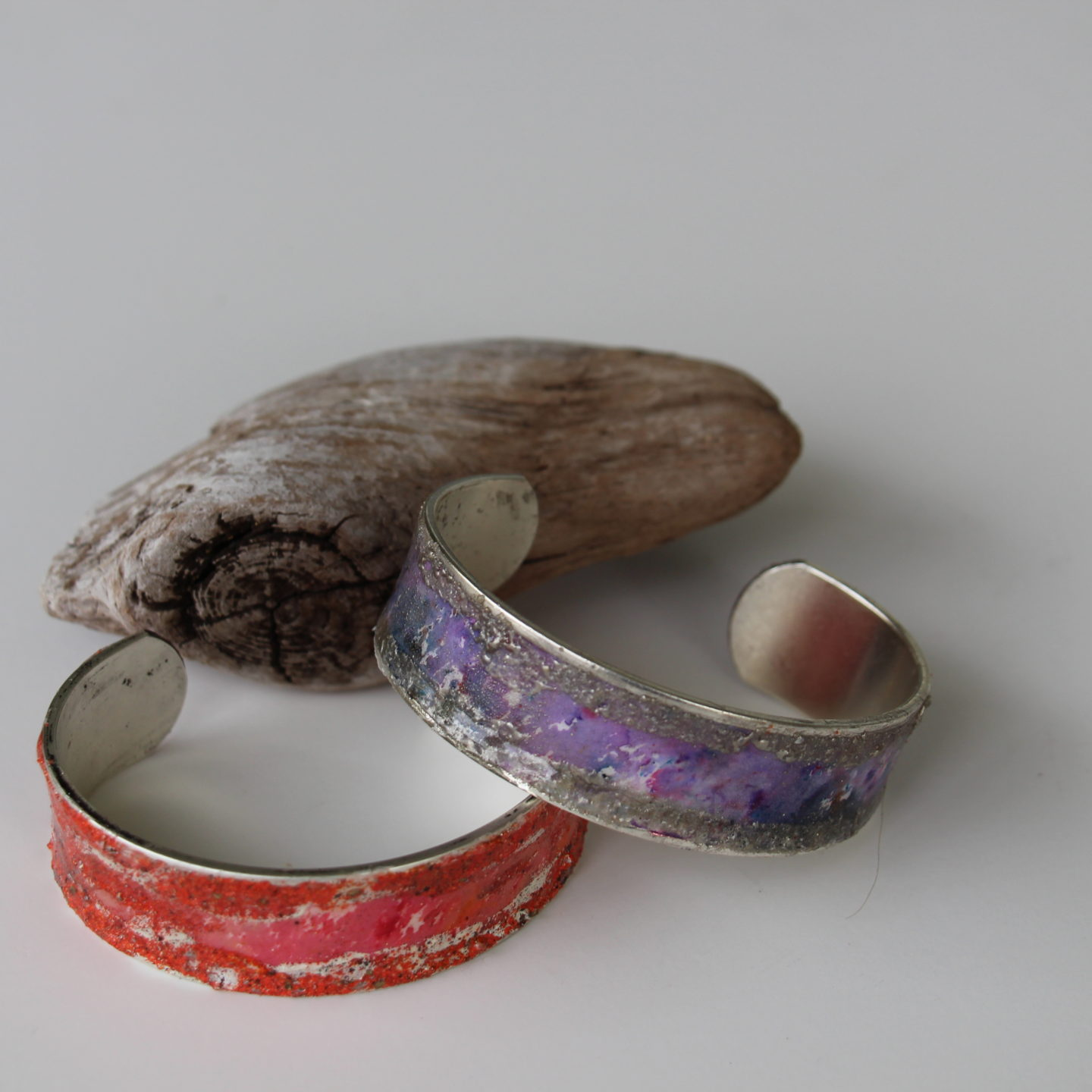 Working with paper, metal, fibre and beads: An artist's delight!