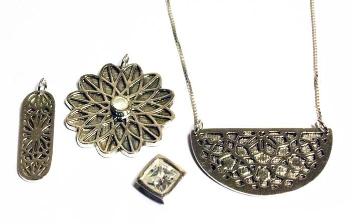 Intro to Fine Silver Metal Clay: Textures and Gemstones