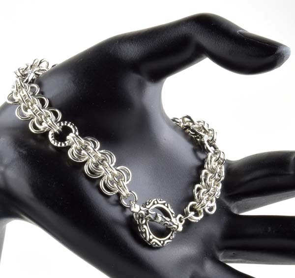 Back to Work Chainmaille Bracelet